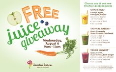 Get FREE Jamba Juice Tomorrow! All The Details Here | OK! Magazine