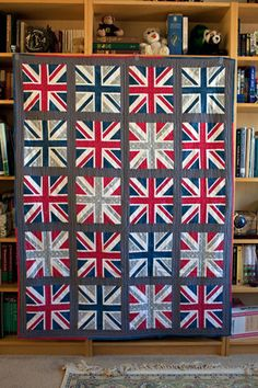 Union Jack Quilt -- whimsandfancies