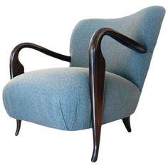 Elegant Vintage Lounge Chair - Italian Design 1950