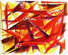 Red Rayonism, Mikhail Larionov
