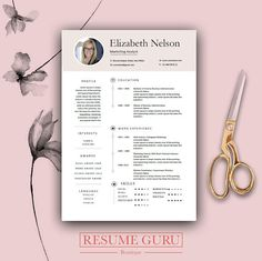 professional cv template bundle cv package with cover letters for ms word modern cv design instant download template sale best - Nelson Muller Lebenslauf
