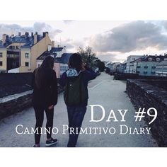 #caminodiary Day 9 on your two feet in your backpack you carry food much unnecesary stuff some clothes an address book a soap a sleeping bag and all. but beyond that you carry landscapes with every step it changes - snowy summits suddenly hide behind a bush fresh pink blossom take over the early risen moon apears to the corner of your eye clouds form and unform geometries as in one of those crazy dreams... it's the purest movie in front of your eyes with a chosen soundtrack and coffee brakes…
