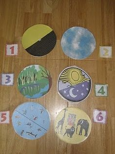 Creation circles/matching game