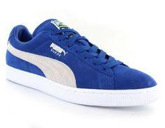 fantastische Puma  Suede Classic+  Blauwe Heren Sneakers (Blauw)