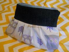 Owl Clutch by katyrudz on Etsy, $15.00