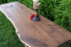 Wooden Slab BartopsTable TopsDesk Tops and MORE by ElementsStudioM, $100.00