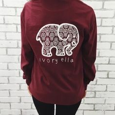 840f42fa4 ✨ISO✨ ivory ella hamsa burgundy white print Reach out to me if you · Maroon  ShirtsWhite ShirtsRed BlousesLong Sleeve ...