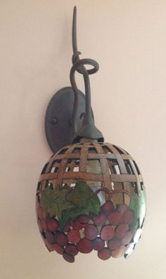 Gourd Lamps dried gourd lamp. this is sooo cool. | for the home | pinterest