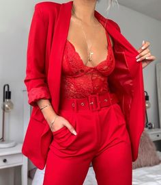 Fresh Casual Outfits from 48 of the Fresh Casual Outfits collection is the most trending fashion outfit this season. This Casual Outfits look related to fashion Classy Outfits, Chic Outfits, Trendy Outfits, Red Outfits For Women, Red Fashion Outfits, Summer Outfits, Classy Casual, Classy Chic, Pink Outfits