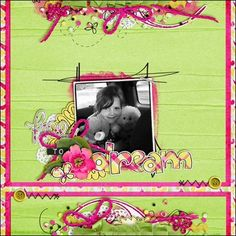 """Layout using """"Butterfly Fly Away"""" by Sugary Fancy Designs"""
