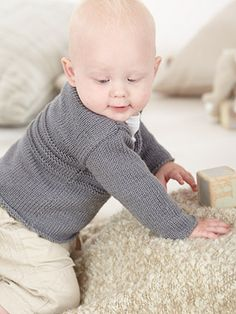 Design from The Sixteenth Little Sublime Handknit Book (683) features 15 designs for baby girls and boys from 0 to 5 years using Sublime Baby Cashmere Merino Silk DK | English Yarns