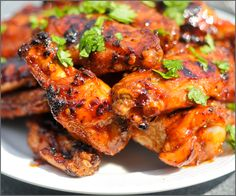 Grilled Honey Chipotle Chicken Wings for Your Labor Day BBQ