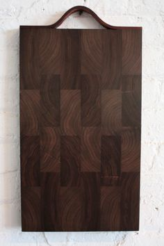 pernt studio | cutting boards: this one in black walnut, via: http://www.designspongeonline.com/2010/06/pernt.html