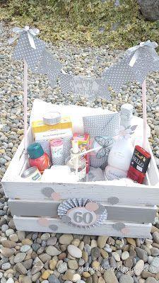 Diy Birthday, Birthday Presents, Baby Party, Baby Pictures, Diy Gifts, Crates, Birthdays, Creative, Diys