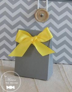 Gift Wrapping, Baby Shower, Mini, Gray, Yellow, Home, Gift Wrapping Paper, Babyshower, Wrapping Gifts