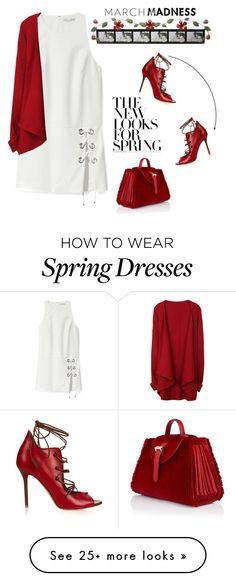 """New Looks For Spring"" by nightowl59 on Polyvore featuring Fetco, Rebecca Minkoff, Malone Souliers and Meli Melo"