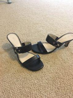 3c6dc24017a5 Minnetonka Bayshore Size 7 M US Women s Gladiator Black Leather Beaded  Sandals
