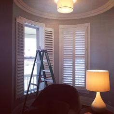 Hunter Douglas Heritance hardwood shutters are designed and made in America and are perfect for this 125 Oak Park Victorian Home. We are smitten.  #windowtreatments  #windowshades  #shades  #interiordesign  #picoftheday  #drapery  #curtains #blackoutcurtains  #Plantation_shutters  #chicagorealestate #slidingglassdoors  #elmhurst #goldcoast  #hinsdale  #oakpark  #hydepark #lagrange  #lincolnpark  #oakbrook  #parkridge #newhouse  #IOT  #smarthome  #connected_home #hunterdouglas  #henrys…