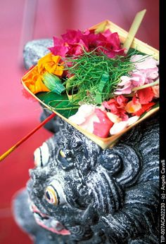 Indonesia, Bali, Offers to Gods