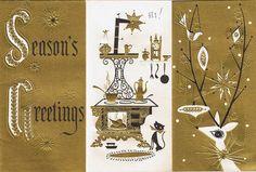 Vintage Christmas design.