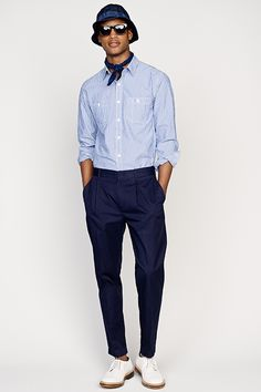 Crew Spring Summer 2015 Fashion Show Collection Images Navy Blue Pants, Navy Blue Dresses, Stylish Men, Men Casual, Fashion Show, Mens Fashion, J Crew Men, Cool Style, Teen Fashion