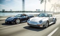 Miami Heat: 2015 Porsche 918 Spyder vs. 1989 Porsche 959 - Photo Gallery of Feature from Car and Driver - Car Images - Car and Driver