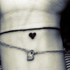bracelet tattoo - four leaf clover instead of heart?