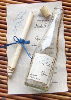 Message In A Bottle Signature Wedding by MessageInABottleInc,