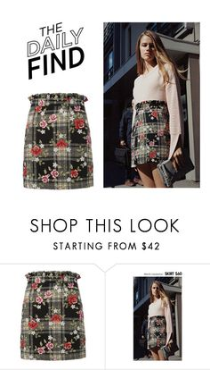"""Daily Find: Topshop Skirt"" by polyvore-editorial ❤ liked on Polyvore featuring Topshop and DailyFind"
