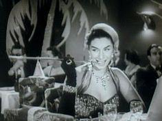 Renata Fronzi -  Filme: Garotas e Samba - 1957