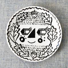 Tilly & Acorns Plate