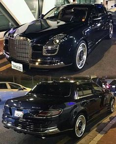 Combination of new and old, Mercedes Benz S600 Royale. What a beauty.
