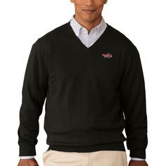 Illinois State Redbirds Collegiate Clubhouse V-Neck Sweater - Black - $59.99