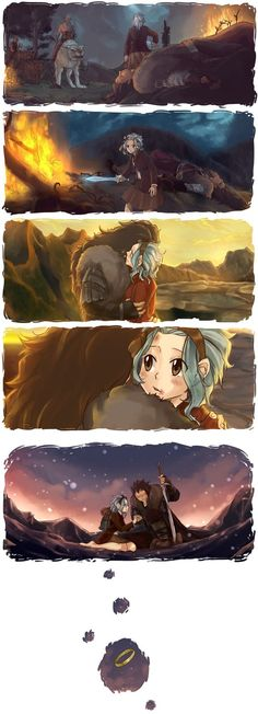 x I just wanted to tell another story about Future!Levy because the series got me all frustrated about her being left all alone. And yes, this is my submission for the Angstmas hahaha, no...