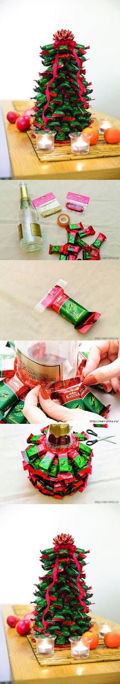 DIY Candy Christmas Tree craft crafts christmas decor christamas crafts christmas craft christmas diy diy christmas ornaments craft xmas decor christmas kids crafts christmas craft ideas christmas diy ideas christmas home crafts