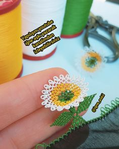 Hand Embroidery, The Creator, Daisy, Crochet, Flowers, Crafts, Tassels, Instagram, Crochet Appliques