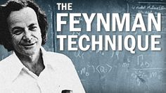 If you want to cut your study time, using the Feynman Technique is a great way to do it. Named after the physicist Richard Feynman, it revolves around explaining a concept in simple language as if you were teaching it to someone else. Richard Feynman, Study Skills, Study Tips, Study Habits, Nobel Prize In Physics, Learning Techniques, Study Techniques, Effective Learning, Learn Faster