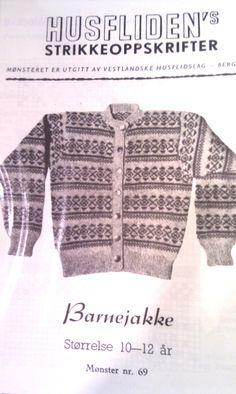 Husfliden 69 Norwegian Knitting, Men Sweater, Sweaters, Vintage, Ideas, Fashion, Knits, Moda, Fashion Styles