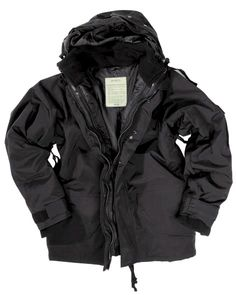 Find Mil-Tec ECWCS Jacket Fleece Black size L online. Shop the latest collection of Mil-Tec ECWCS Jacket Fleece Black size L from the popular stores - all in one Men's Coats And Jackets, Winter Jackets, Fleece Jackets, Nylons, Outdoor Men, Cold Weather Outfits, Mens Fleece, Down Vest, Cowls