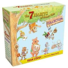 The 7 Habits of Happy Kids 7 Books Collection Set By Sean Covey Paperback