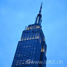 Blaue Stunde, Empire State Building