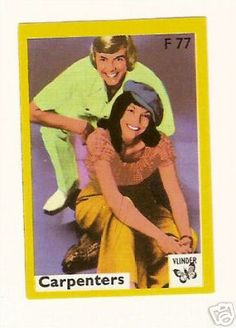 The Carpenters Karen Carpenter Vintage Matchbox Label | eBay