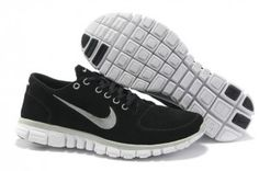 watch f45fb 2019c Hpr1g Nike Free Run 3.0 Noir Blanche Homme Suède Chaussures Nike Free Run  3, Nike