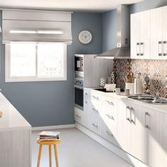Cocinas y lavabos de obra 11 cuines pinterest - Islas de cocina leroy merlin ...