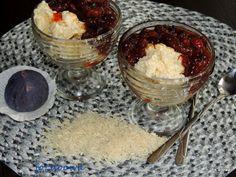 Moje Małe Czarowanie: Kremowy pudding ryżowy z gotowanymi figami - Arroz...