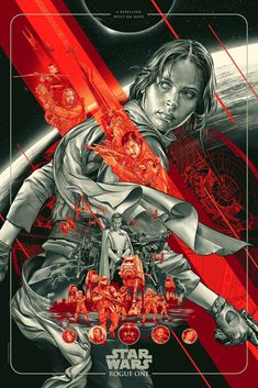 Rogue One: A Star Wars Story Poster by Martin Ansin from Mondo (Onsale Info)
