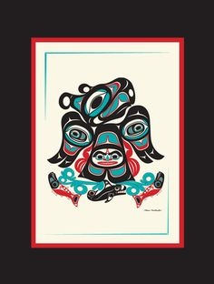 Northwest Native American Thunderbird by by NorthwestNativeGifts, $15.00