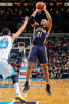 David West led the Pacers comeback 81-75 victory over the New Orleans Hornets, scoring 20 of his 25 points in the second half.