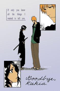 Ichigo and Rukia - the farewell. Chapter 423. My edit.