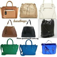 #Handbags www.questworld.com.ng Nationwide Delivery from 24hours Pay on delivery within Lagos.